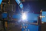 cutting, bending, welding and finishing of tubes and steel rods
